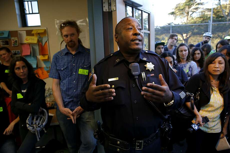 San Francisco Police Department Park Station Captain John Sanford, shown in 2015, said officers heard of the flyer from the media. Photo: Connor Radnovich, The Chronicle