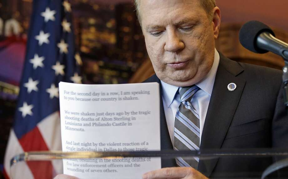 A Kent man on Thursday filed a lawsuit against Seattle Mayor Ed Murray, charging that Murray sexually abused him in the 1980s as the then-teen battled drug addiction. Click through for more details of the suit. Photo: Elaine Thompson/AP