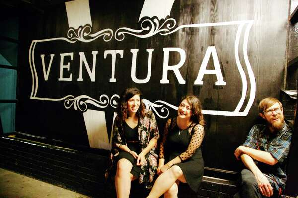 Allison C Valdivia, Amanda Hernandez-Gauna, and Anthony Gauna are at ventura.