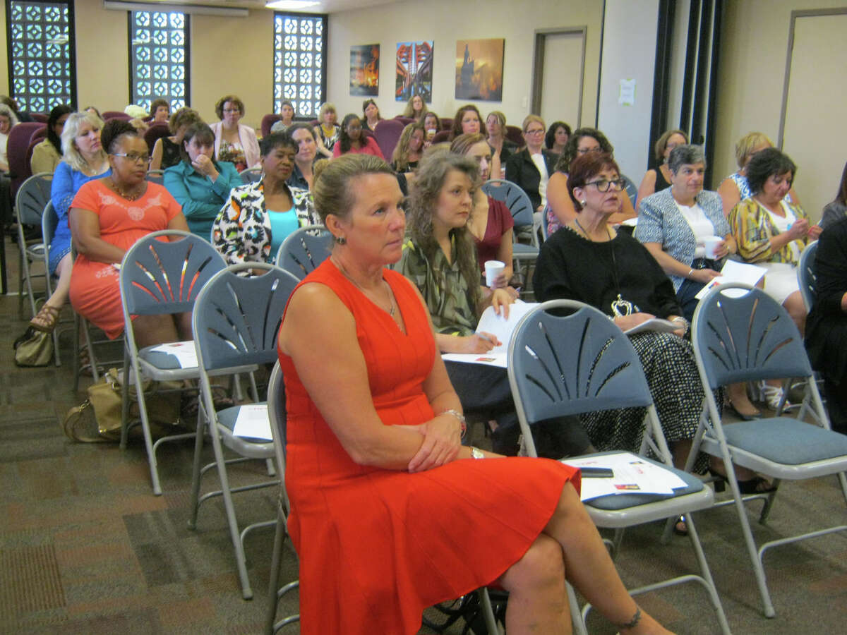 Were you Seen at the Women@Work Breakfast Series event, What inspires you at work?, with guest speaker Kathleen Pingelski of MicroKnowledge, held at the Times Union in Colonie on Wednesday, July 13, 2016?