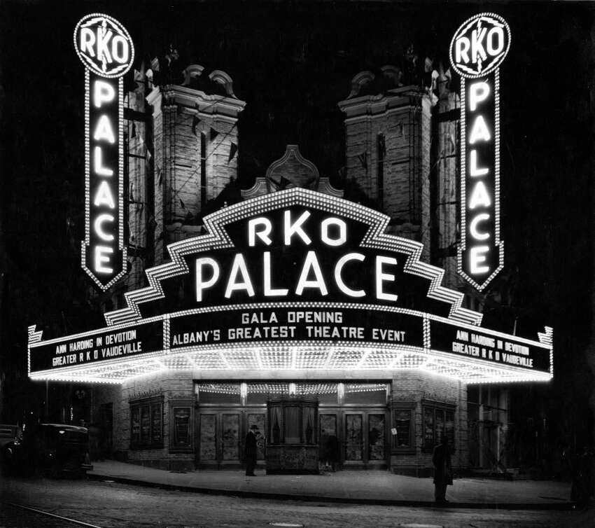 Click through the slideshow to see what's happened at the Palace Theatre through the years Palace Theatre on Oct. 23, 1931, in Albany, N.Y. (Times Union Archive)