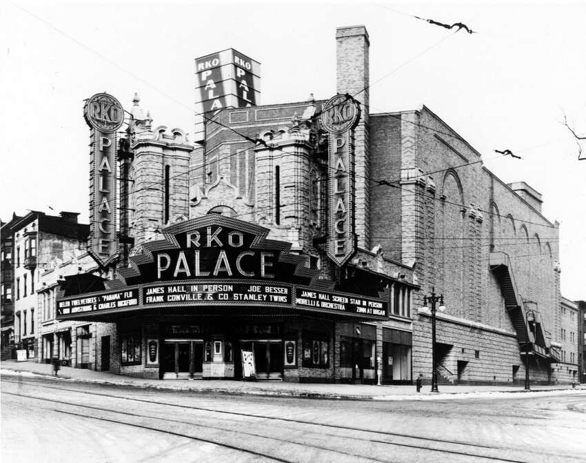 Palace Theatre, circa 1931, in Albany, N.Y. (Times Union Archive)