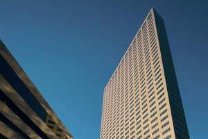 Marathon Oil Tower at 5555 San Felipe is  41 stories tall and and contains 1.2 million square feet.