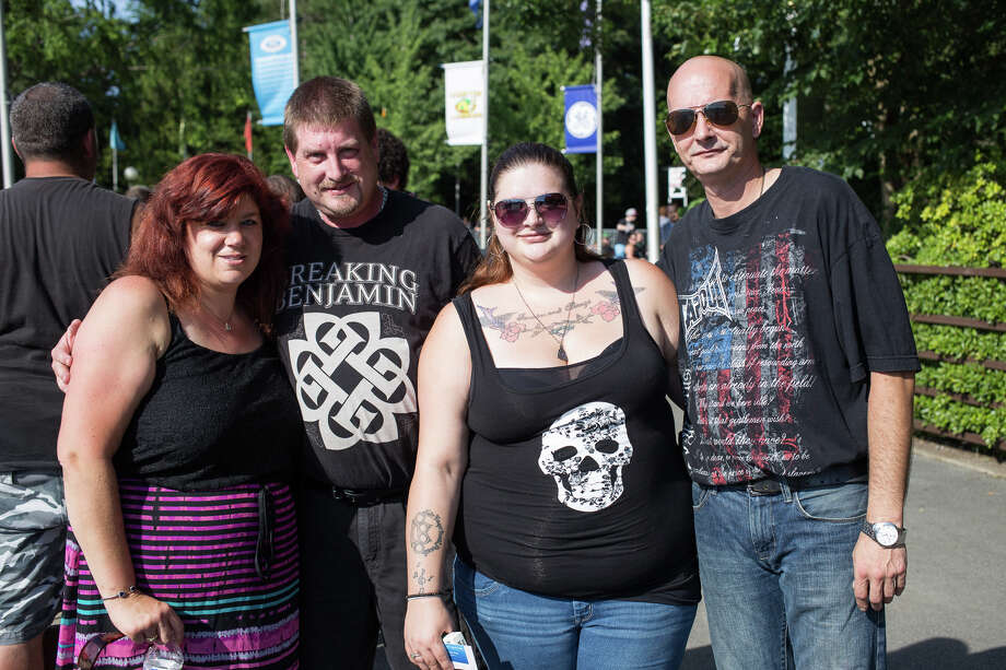 Were you Seen at the Disturbed and Breaking Benjamin show at SPAC in Saratoga Springs on Tuesday, July 12, 2016? Photo: Trudi Shaffer Hargis/Times Union
