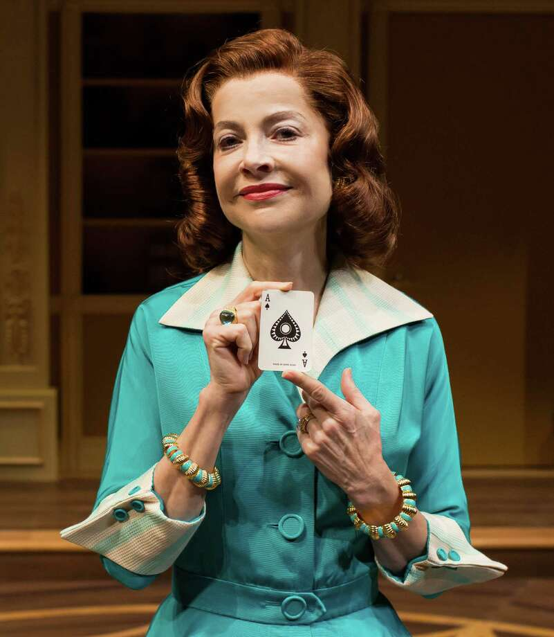 "Josie De Guzman stars in the Alley Theatre's production of Agatha Christie's""Spider's Web."" Photo: Lynn Lane / Lynn Lane"