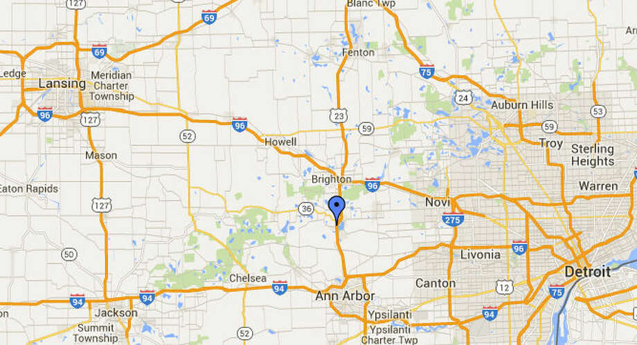 Detroit TV Station NB US At Eight Mile Closed Indefinitely - Us 23 map