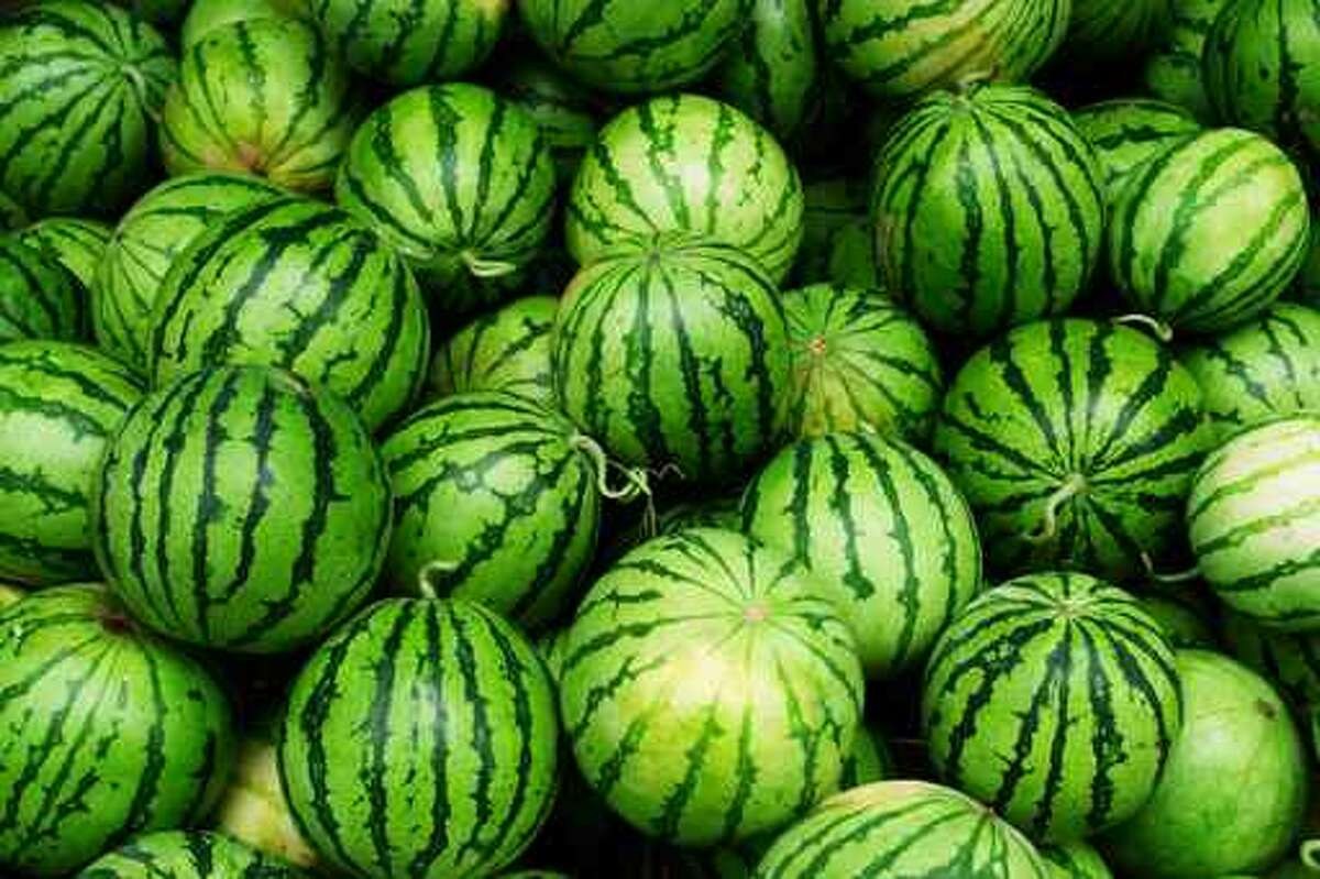 Third That makes Texas third nationally in watermelon production, with Georgia and Florida ahead. Worldwide, China is by far the largest producer.