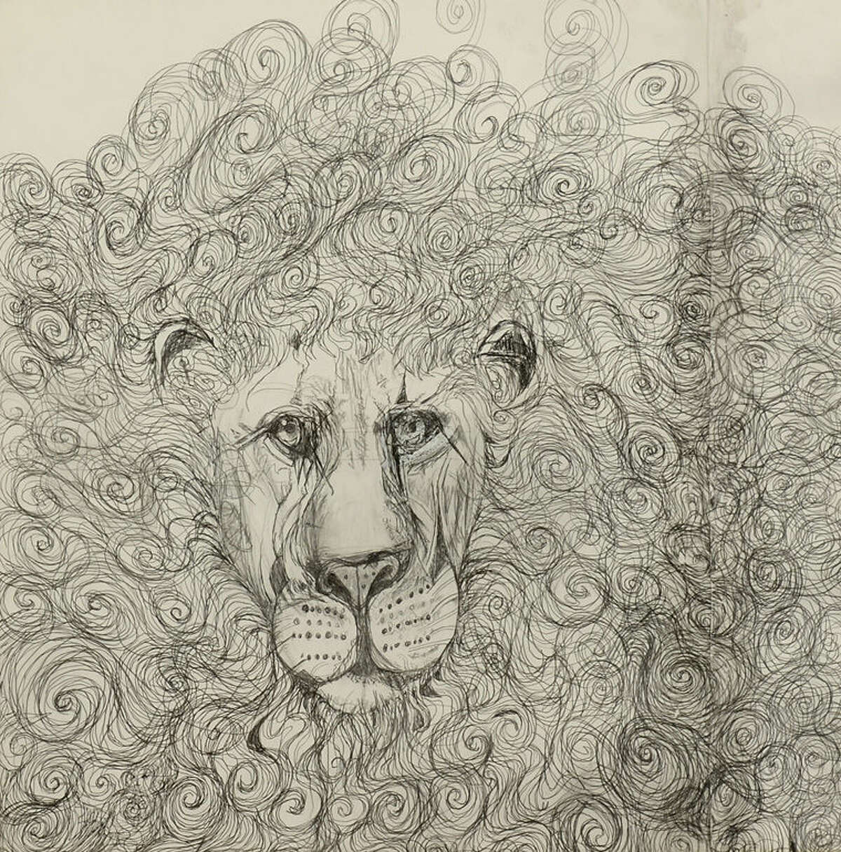 """Heather Deogracia's work, """"He is Lying,"""" a graphite on paper, will be featured in the competition."""