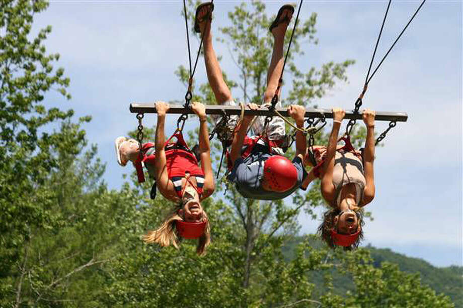 This photo was taken at SharpTop Cove, a Young Life Camp. Photo: From The Midland Young Life Website