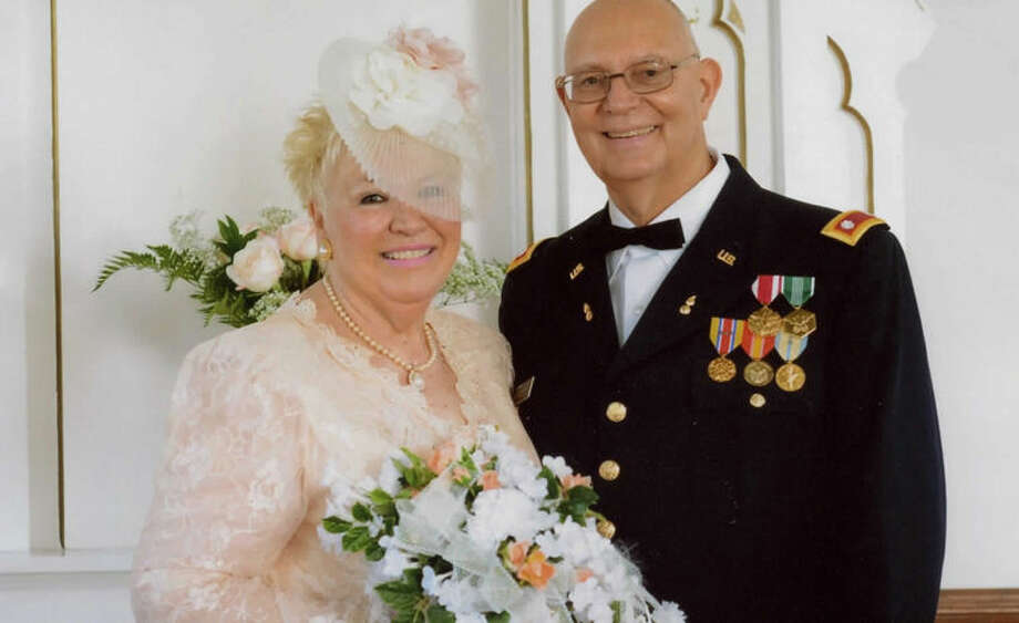 Ken and Judy Bow celebrated a reaffirmation of their wedding vows for their 30th wedding anniversary. Ken bought Judy a new ring for the occasion. The best man dropped it and the ring began rolling across the altar with everyone in pursuit.