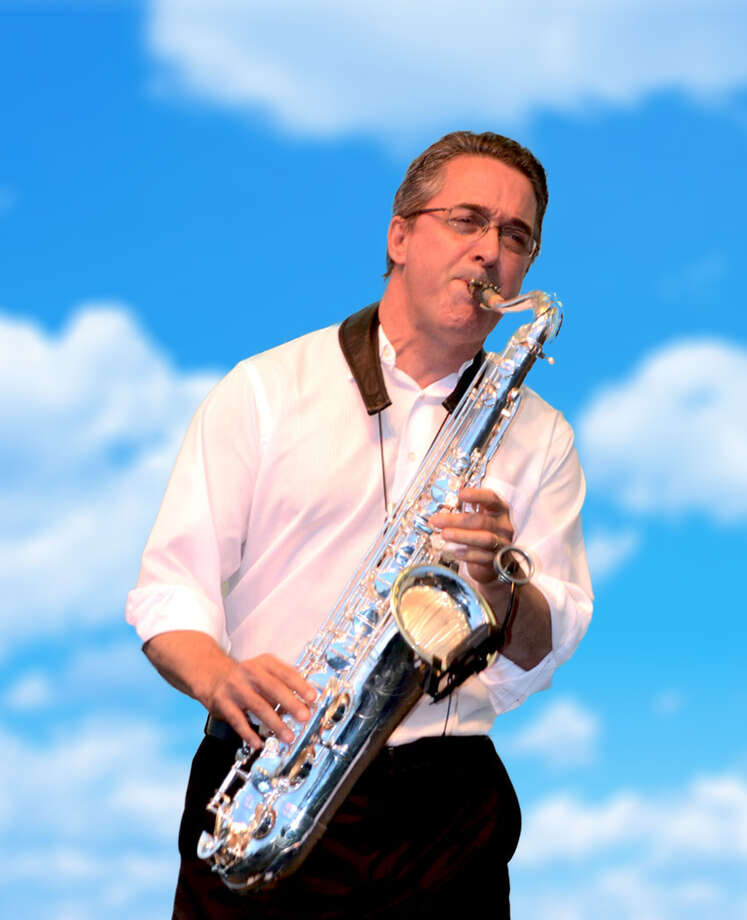Jim Clark, the talented saxophonist, composer and bandleader, appears at 7 p.m. on Saturday, July 16, on the Norwalk Green, located at 74 East Ave. Photo: Contributed Photo