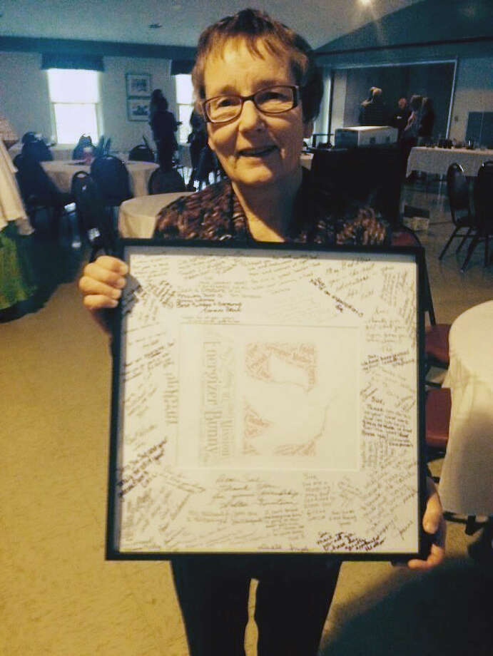 Sue LaBean was given a special tribute at the event. Photo: Photo Provided