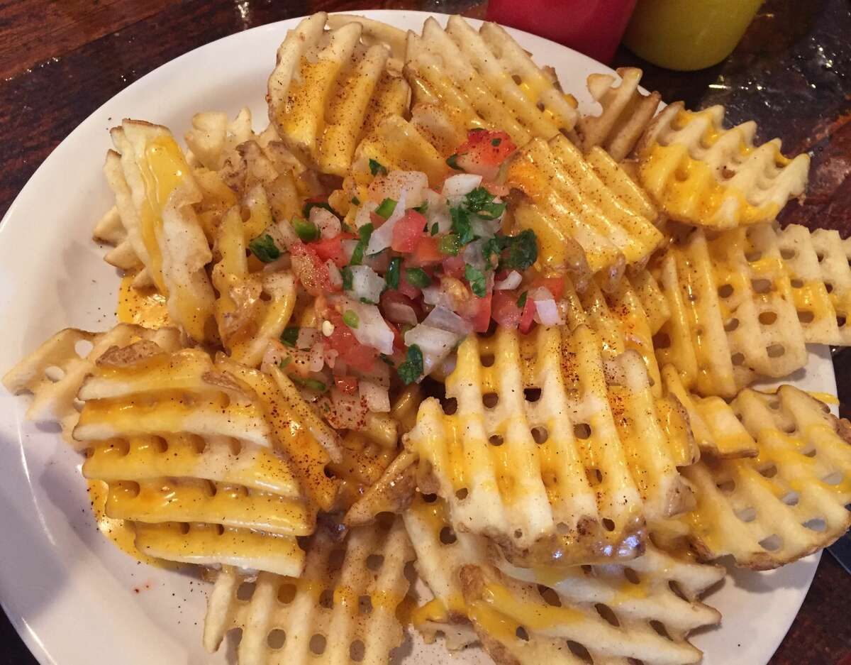 Frank, 1150 S. Alamo St. These are the Queso fries, but Frank also makes a a Canadian waffle poutine.