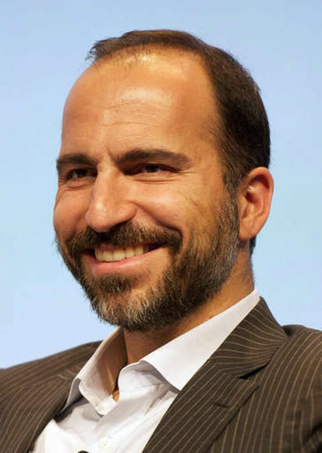 This photo provided by Expedia, Inc. shows CEO Dara Khosrowshahi. Khosrowshahi was one of the highest-paid CEOs for 2015, as calculated by The Associated Press and Equilar, an executive data firm. Photo: Expedia, Inc. Via AP