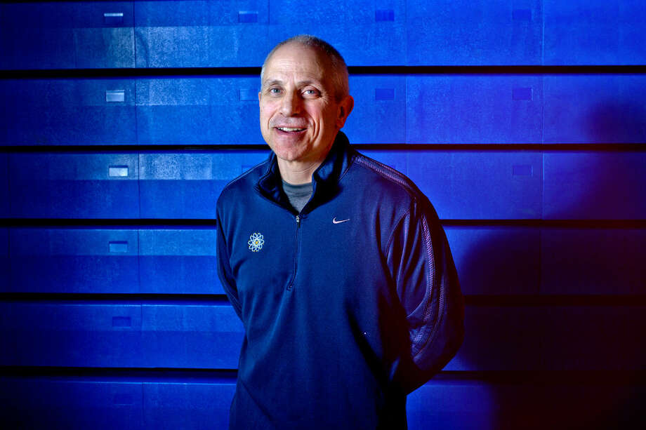 Midland's Eric Krause has been selected as Coach of the Year for the Daily News boys' basketball Dream Team. Photo: Nick King | Midland Daily News