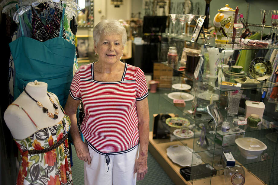 Linda Johnson is the new owner of the consignment shop Twice Is Nice. Photo: Brittney Lohmiller | Midland Daily News