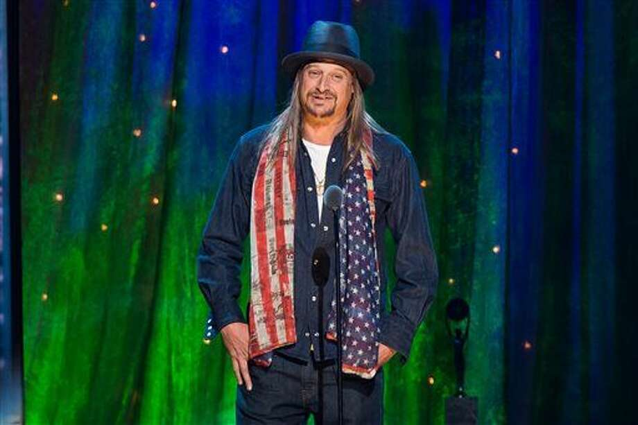 FILE - In this Friday, April 8, 2016 file photo, Kid Rock appears at the 31st Annual Rock and Roll Hall of Fame Induction Ceremony at the Barclays Center in New York. Kid Rock's assistant was killed in an ATV accident overnight at a suburban Nashville property belonging to the singer. The Tennessean reports 30-year-old Michael Sacha was found lying face down on the side of a driveway of Rock's White Creek house early Monday morning, April 25, 2016. (Photo by Charles Sykes/Invision/AP, File) Photo: Charles Sykes