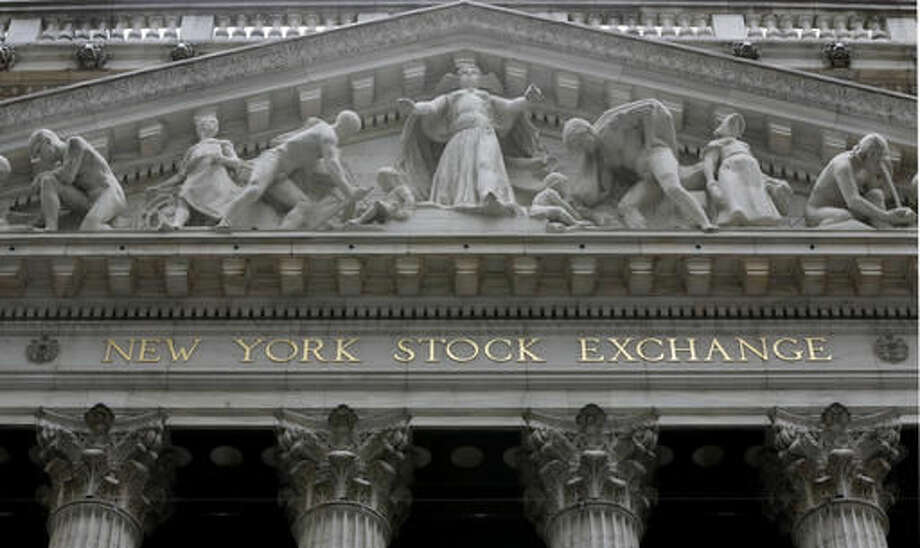 The facade of the New York Stock Exchange. Photo: Richard Drew