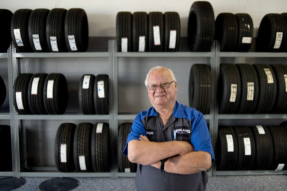 DeWayne Cassiday is retiring today from Midland Ford after working at the car dealership for 48 years. Photo: Brittney Lohmiller | Midland Daily News