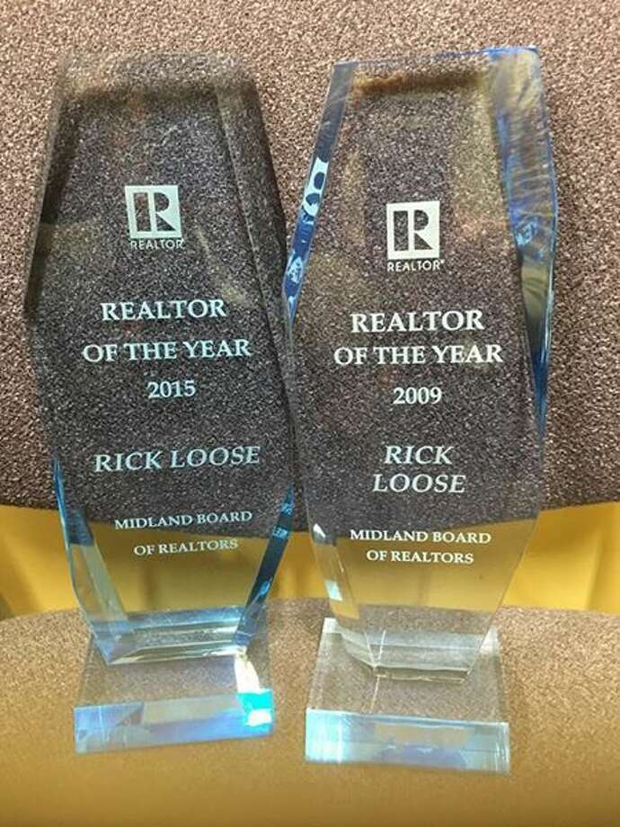Rick Loose was named Realtor of the Year for 2015, and now has two such awards to his credit.