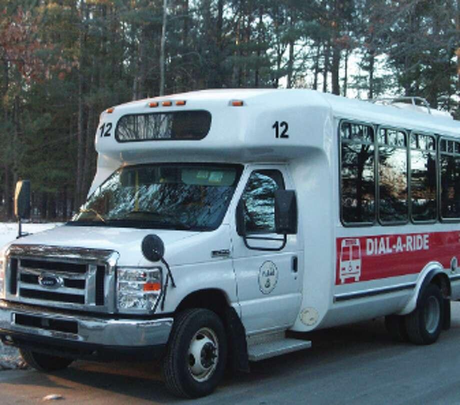 Dial-A-Ride bus