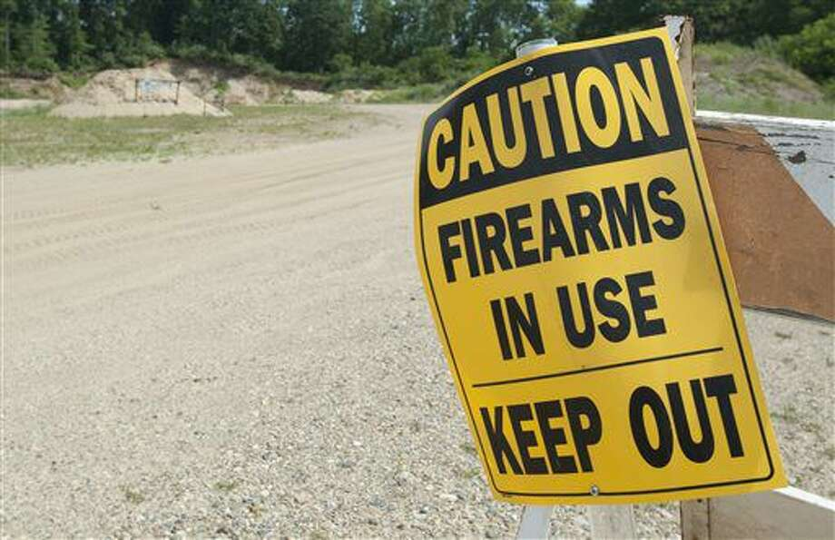 The Kickin Brass gun range on Portage Road in Leoni Township, Mich. as seen on Wednesday, June 22, 2016. The gun range is in a battle with neighbors and the township. (J. Scott Park/Jackson Citizen Patriot via AP) Photo: J. Scott Park