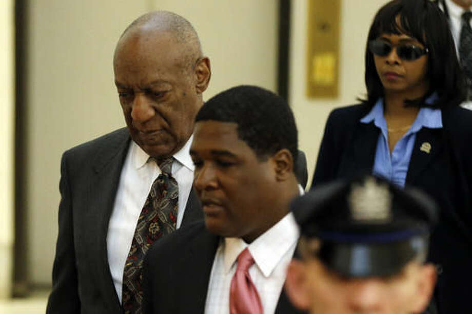 Bill Cosby arrives at the Montgomery County Courthouse for a preliminary  hearing, Tuesday, May