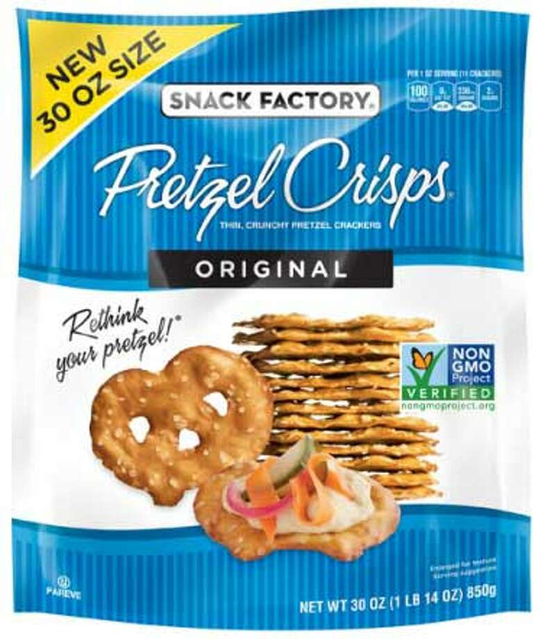 Baptista's Bakery, Inc. has recalled of a limited number of 30 oz. Snack Factory Original Pretzel Crisps packages because they may contain undeclared milk ingredients. Photo courtesy of the U.S. Food and Drug Administration. Photo: Contributed