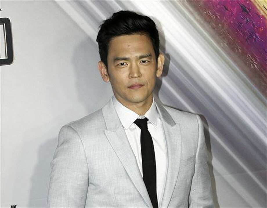 "FILE - In this July 7, 2016 file photo, actor John Cho arrives at the premier of ""Star Trek Beyond"" in Sydney, Australia. Cho portrays Hikaru Sulu in the film, opening in U.S. theaters on July 22 (AP Photo/Rob Griffith, File) Photo: Rob Griffith"