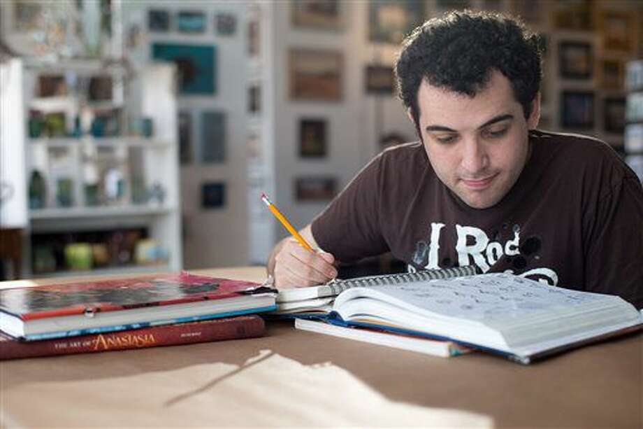 """This image released by The Orchard shows Owen Suskind in a scene from """"Life Animated."""" (The Orchard via AP) Photo: HONS"""