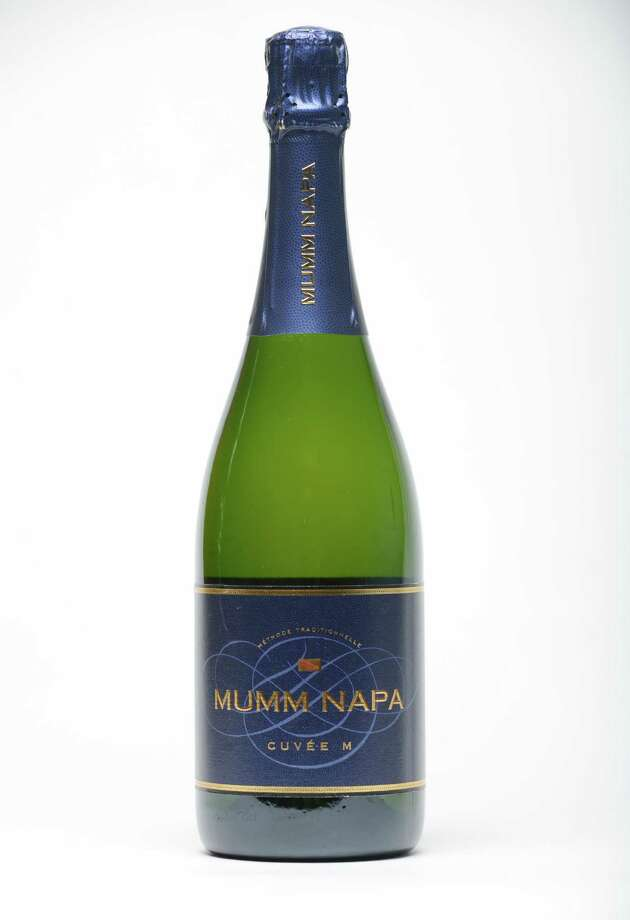 Mumm Napa, Cuvee M sparkling, California non vintage, Thursday, June, 23, 2016, at the Times Union in Colonie, N.Y. (Will Waldron/Times Union) Photo: Will Waldron