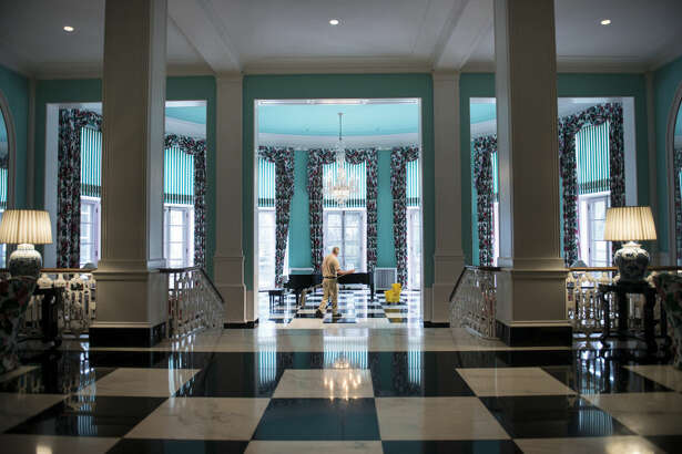 WEST VIRGINIA:  THE GREENBRIER   At  The Greenbrier  in the mountains of West Virginia, a National Historic Landmark meets a world-class resort. The gorgeous 11,000-acre resort, which has hosted guests since 1778, offers golf, fine dining, outdoor activities, a luxurious spa — and has even played host to 26 of our 44 presidents.      See more historic mansions that are open to the public »