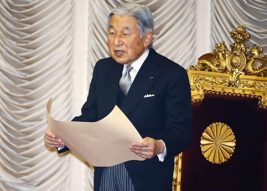 Emperor Akihito, 82, has broken with several long-held imperial traditions in recent years. Photo: Shizuo Kambayashi, Associated Press