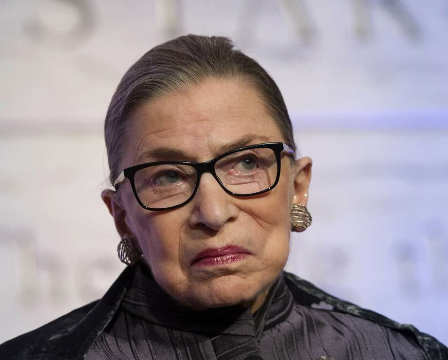 Supreme Court Justices Ruth Bader Ginsburg blasted presumptive GOP nominee Donald Trump. Photo: Cliff Owen, Associated Press