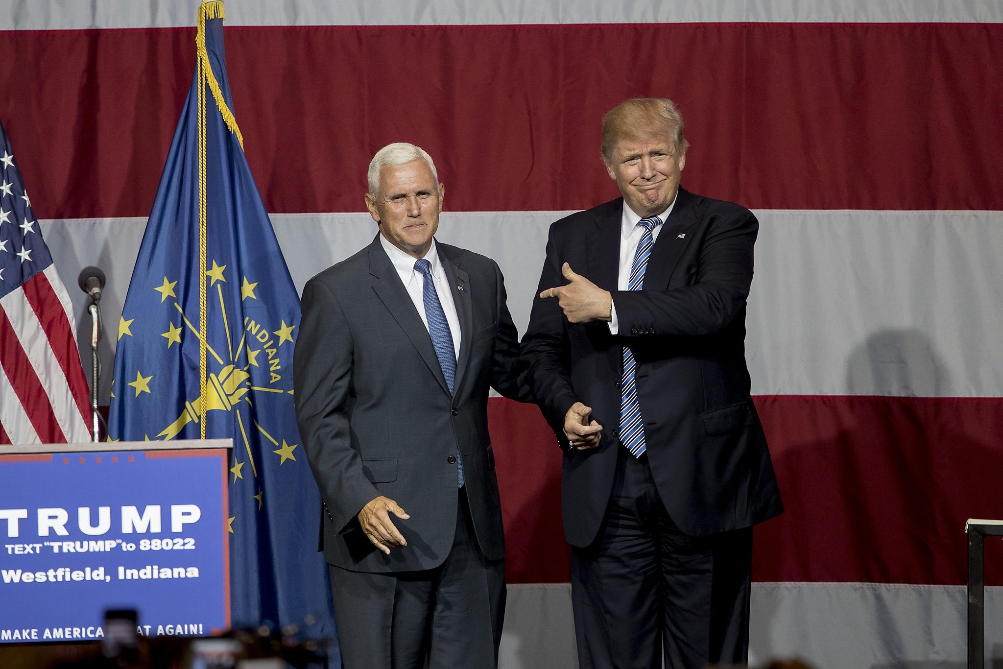 Reports: Donald Trump likely to pick Indiana Gov. Mike Pence as running mate