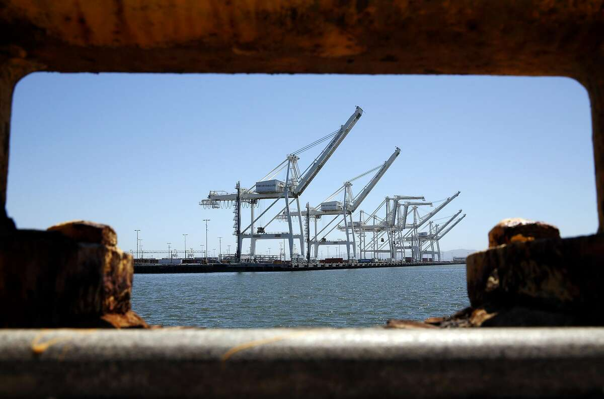 The former location of Ports America Outer Harbor Terminal at the Port of Oakland in Oakland, California, on Tuesday, July 12, 2016.
