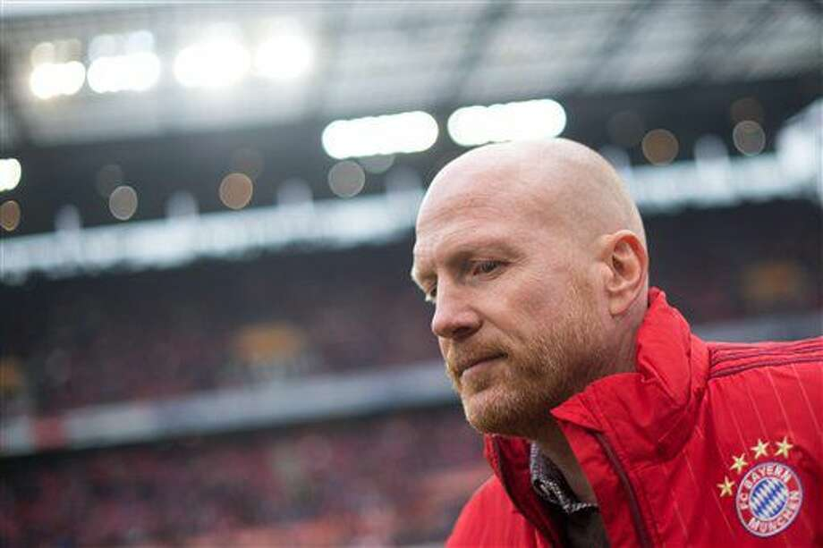 FILE In this March 19, 2016 file picture Munich sporting director Matthias Sammer waits before the game between FC Cologne and FC Bayern Munich in the RheinEnergieStadion Cologne, Germany. According to German dpa news agency, Sunday July 10, 2016, Sammer will leave Bayern Munich. (Marius Becker/dpa via AP, file) Photo: Marius Becker