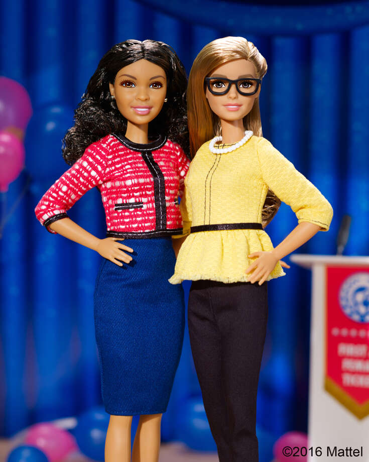 Mattel's 2016 Presidential Barbie comes with a running mate.