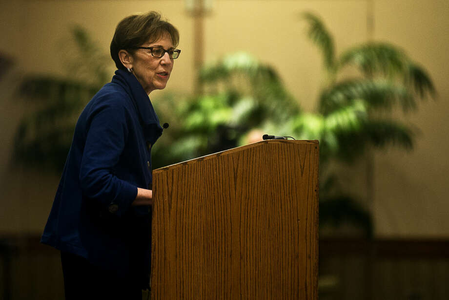 Third-term Mayor Maureen Donker is shown in this Daily News file photo. Photo: Erin Kirkland | Midland Daily News