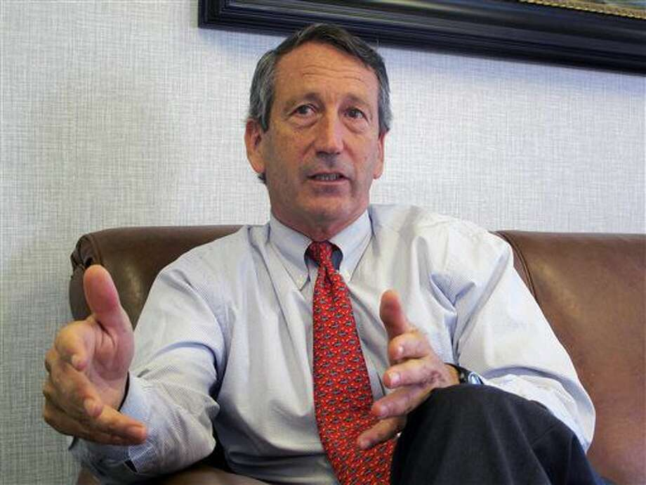 FILE - In this Dec. 18, 2013, file photo, U.S. Rep. Mark Sanford, R-S.C., discusses his first months back in Congress during an interview in Mount Pleasant, S.C. A spokesman for the South Carolina Law Enforcement Division said on Tuesday, July 12, 2016 that the agency is investigating after Sanford's niece's foot was apparently injured in an incident involving the congressman. An incident report said it happened on June 18, 2016 on a dock at the Sanford family farm near Beaufort, S.C. (AP Photo/Bruce Smith, File) Photo: Bruce Smith