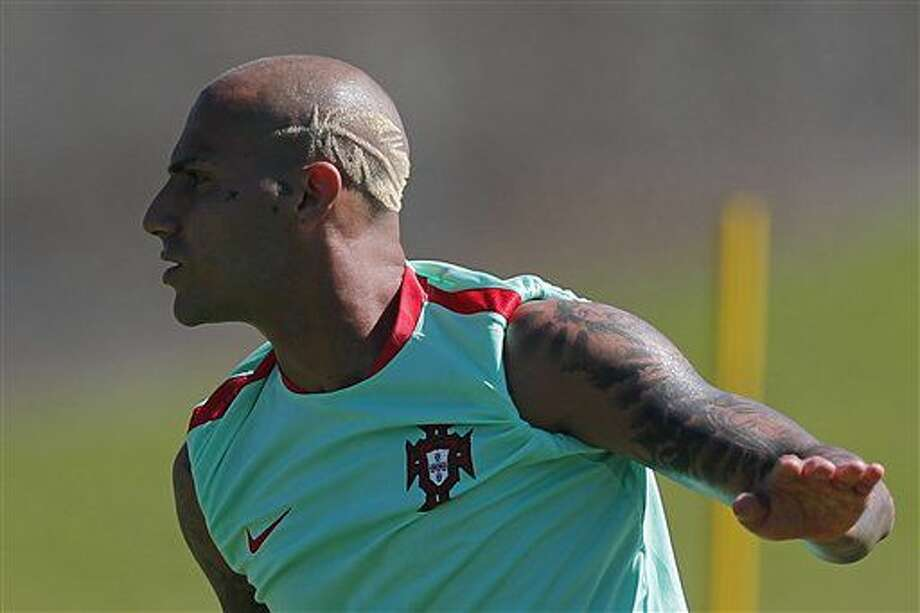 Portugal's Ricardo Quaresma attends a training session, on the eve of the Euro 2016 final soccer match between France and Portugal, at Marcoussis, south of Paris, France, Saturday, July 9, 2016. (AP Photo/Francois Mori) Photo: Francois Mori