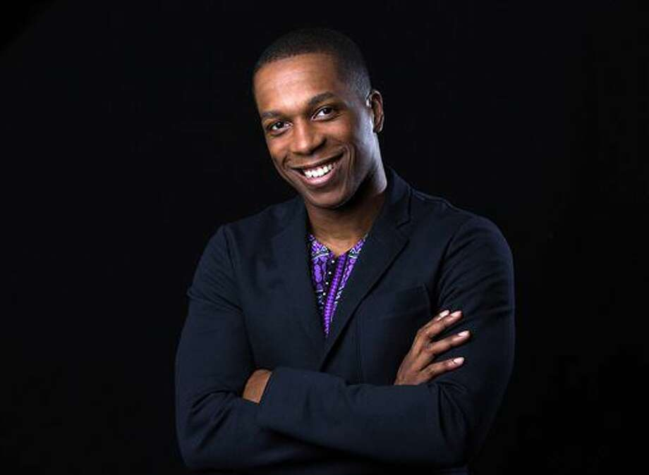 "In this June 17, 2016 photo, Tony Award winner Leslie Odom Jr. poses for a portrait in New York. Odom, who stars in the Broadway hit ""Hamilton,"" will make his last appearance with the show on Saturday, July 9. (Photo by Amy Sussman/Invision/AP) Photo: Amy Sussman"