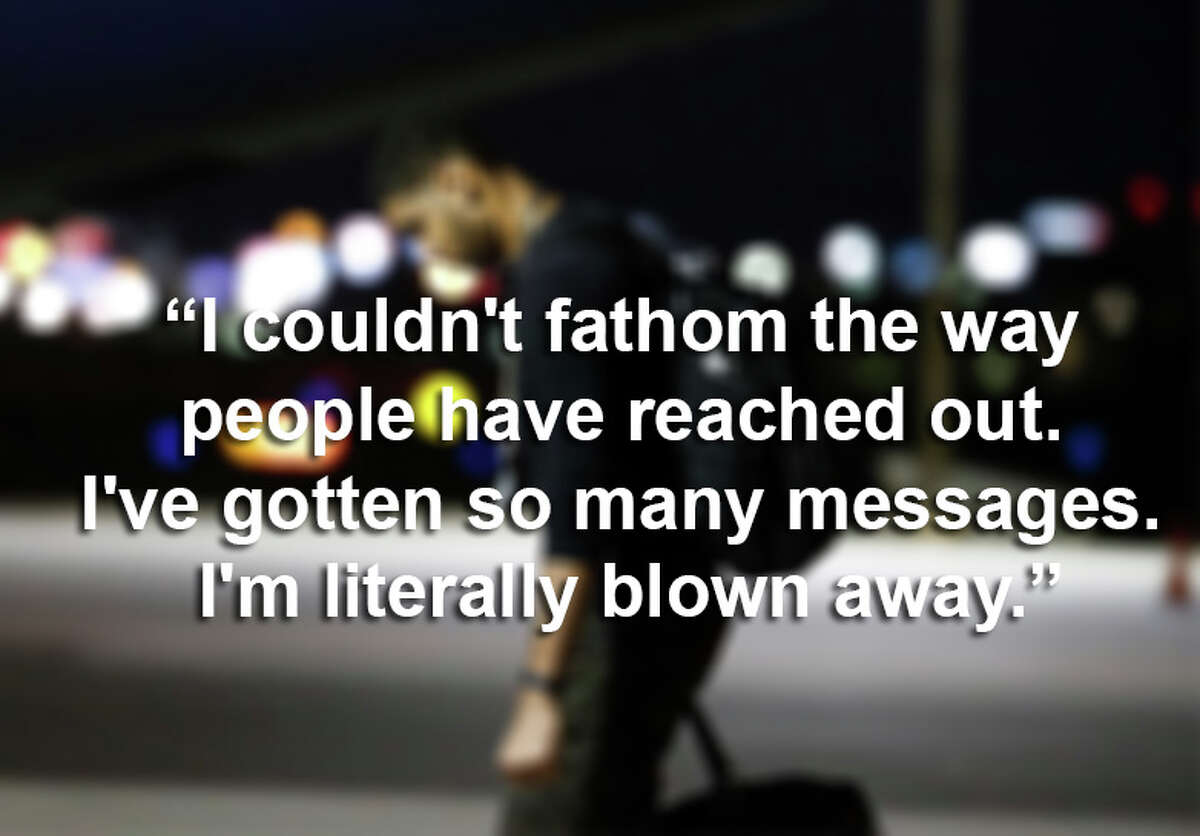 """""""I couldn't fathom the way people have reached out. I've gotten so many messages. I'm literally blown away."""""""