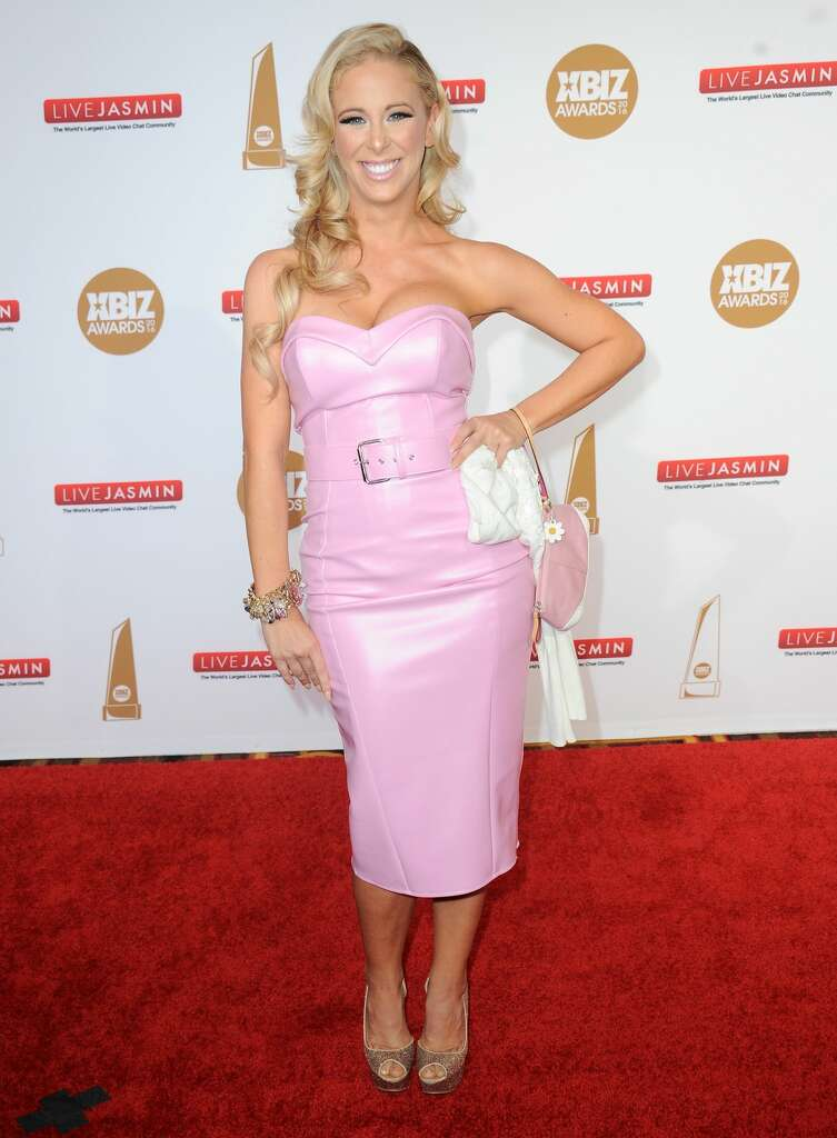 <p>LOS ANGELES, CA &#8211; JANUARY 15: Adult film actress Cherie Deville&#8221;/></a><br /><span id=