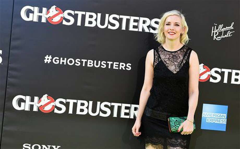 """Katie Dippold arrives at the Los Angeles premiere of """"Ghostbusters"""" at the TCL Chinese Theatre on Saturday, July 9, 2016. (Photo by Jordan Strauss/Invision/AP) Photo: Jordan Strauss"""