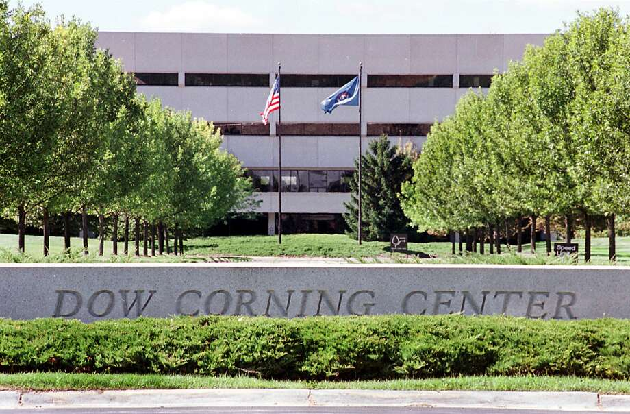 Dow Corning Corp.'s worldwide headquarters in Bay County's Williams Township, located just outside Midland's city limits.