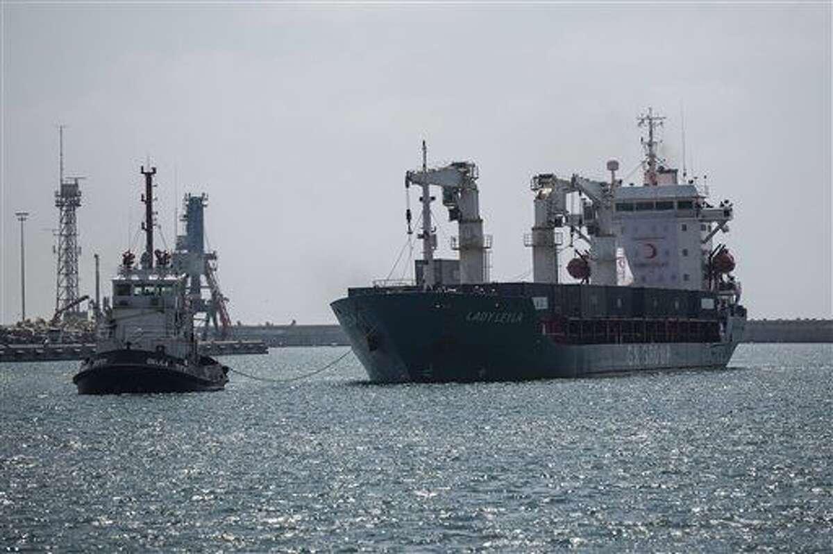 El barco de bandera panameña