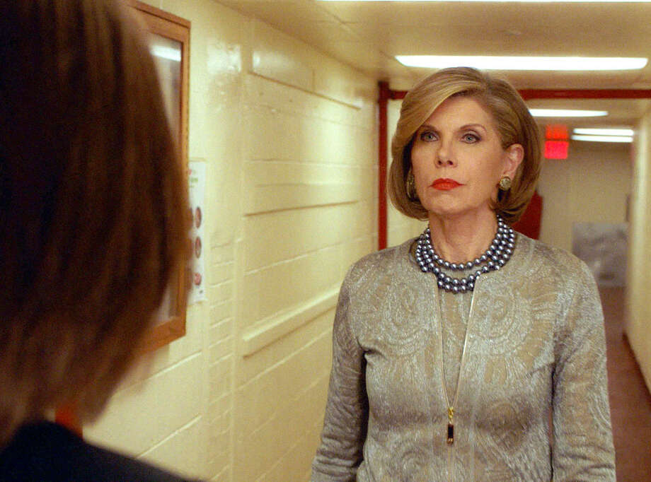 CHRISTINE BARANSKI (The Good Wife) - She is nominatable for every thing she does, and always has been. But what the lady does with a look, a quiver of the lip, a slap ....... whew! / ©2016 CBS Broadcasting, Inc. All Rights Reserved