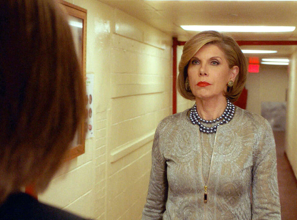 CHRISTINE BARANSKI (The Good Wife) - She is nominatable for every thing she does, and always has been. But what the lady does with a look, a quiver of the lip, a slap ....... whew!