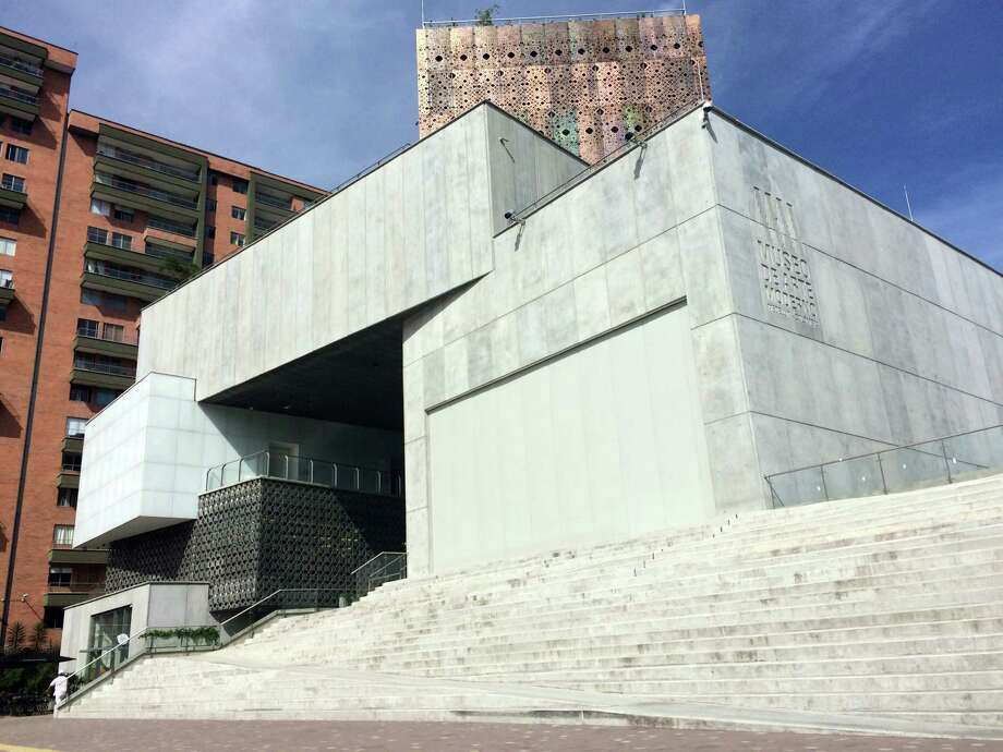 Exterior view of the Museo de Arte Moderno Medellin. Photo: Ashley Clemmer Hoffman